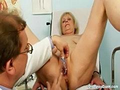Brigita gynochair mature pussy speculum gyno  free