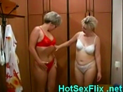 Mature lesbian sluts fucking in sauna free