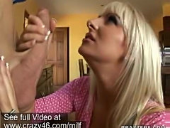 MILF is hungry for a big cock to fuck