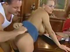 German Blonde MILF Mother