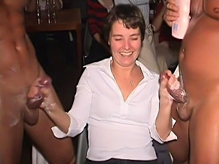drunk women in the strip club