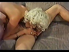 Blonde goddess Seka fucked and sucking cock