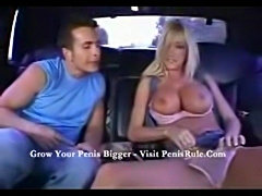 Nadia hilton in a limo  free