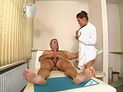 Doctor Elena fuck older patient