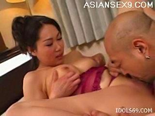 Fujiko sakura dominant lady asian tramp enjoys being the top free