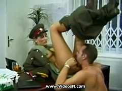 KGB Military Girl Fucks Recruit .. free