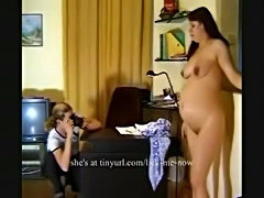 Brother films and fucks pregnant sister  free