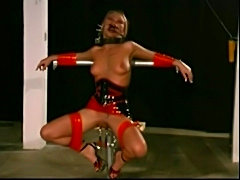 Slave Livia extreme restraints bondage training PART-1
