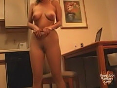 Asian Secretary Strip Tease