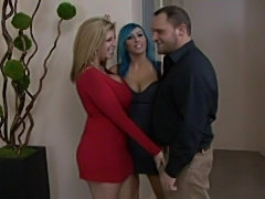 Sara jay & raven black 3some  free