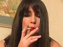 Smoking Fetish - Taylors Cruel Smoking Cocktease