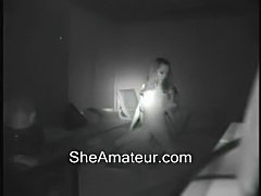Hidden cam caught my younger sister and her boyfriend