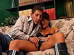 italian mature hot fuck on sofa