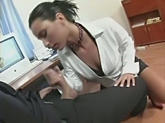 Simone Peach fucks a work colleague