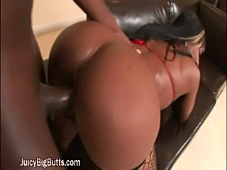 Ebony babe love to have anal sex  free