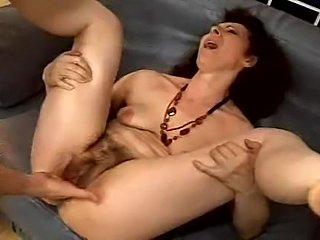 old slut fucked and squirts