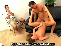 Fucked in front of husband  free