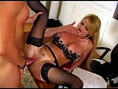 Busty Blonde Taylor Wane Office Scene free