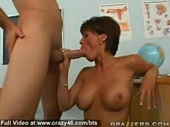 Busty teacher fucked hard  free
