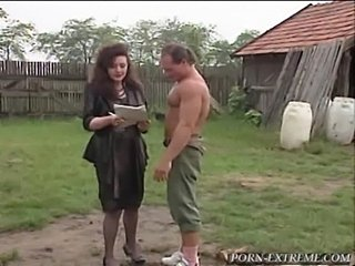 2 guys ruining asshole of skinny milf with big copy tits and 9