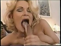 Mature lady swallow  free