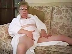 Mature teasing Panty Girdle