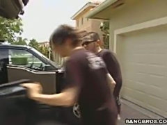 4 videos of this unsuspecting guy about to get pwned by this hot MILF. She...