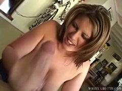 Big Boobs Mom Admires Cock