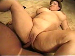 Chubby Mature plays piano interracial fucking
