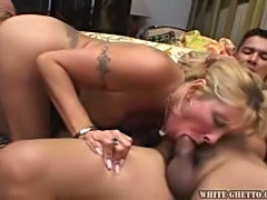 MILF Shows Extreme Urgency To Get Fucked By Many Cocks