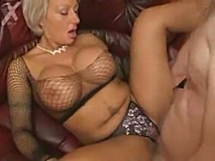 Milf with big tits fucked  free