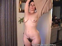 Mature lady is hungry!