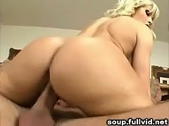 Blonde milf facial  free