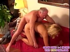Old guy loves to cum inside blonde4  free