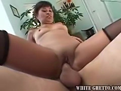 Slow milf BJ and good cock riding