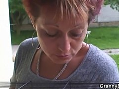 Hung guy fucks neighbour granny - xHamster.com