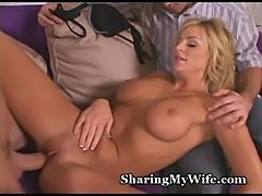Wifey obeys new young cock  free
