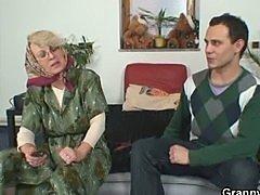 Granny slut gets pounded