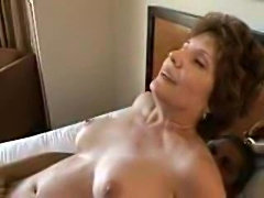 Cock pummels mature slut before a cumshot