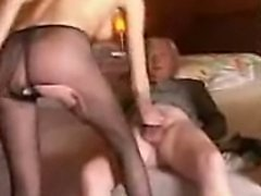 russian beauty Nicol fucked by old men for cash