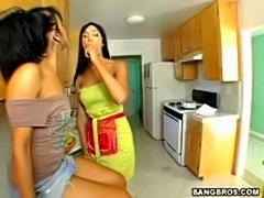 Milf wife lends her friend a hard dick