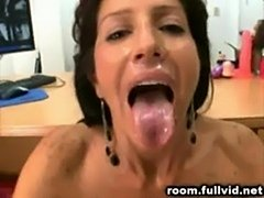 Milf backroom facial  free