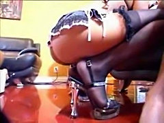 Nyeema Knoxxx,Alicia Tyler,Vida Valentine Reverse Gangbang