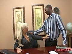 Fucking The Bonus Out Of Boss Lady's Ass!