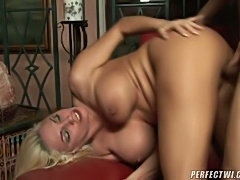 This busty MILF is ready to take on your cock and ride it will all the experienced bitch has! Give her your cock, and she'll make you cum like no one.