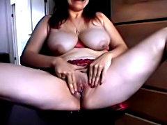 My Mature Gf cums on webcam