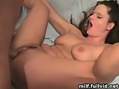 Milf takes facial  free