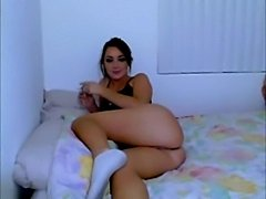 Amature Girl Plays With A Dildo