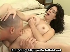 Housewife oral action  free