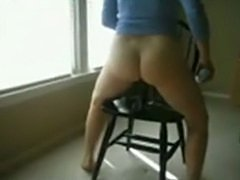 MarieRocks 50 Plus MILF  Sitting on a Sex Toy